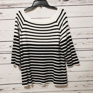 Chicos Striped blouse